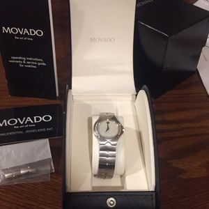 Movado Sports Edition SE ladies ...Mother of Pearl